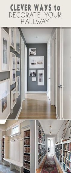 Clever ways to decorate your hallway - Herkes Soruyo . - Clever ways to decorate your hallway – Herkes Soruyo Clever ways to decorate - Style At Home, Sweet Home, Diy Casa, Decoration Inspiration, Decor Ideas, Wall Ideas, Design Inspiration, Home Fashion, Home Projects