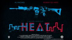 Pastel Movie Poster for Michael Mann's Heat
