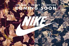 #Blog Update: Nike x Liberty Autumn/Winter 2014 Collection - http://www.lavitique.co.uk/blogs/news/15630277-nike-x-liberty-collection