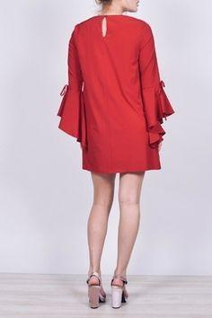 e01047356e55 Dee Elly Bell Sleeve Dress - Alternate List Placeholder Image Date Night  Dresses, Bell Sleeve