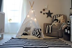 Cute Brown Teepee Image Gallery in Nursery Contemporary design ideas with Cute beatles black black and white Boy's Room glider gold Nursery teepee toddler