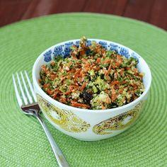 """Detox"" salad made in the food processor! Transforms the way raw veggies taste!  (a similar recipe added sea kelp)"