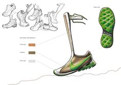 Nike Shoes on the Behance Network