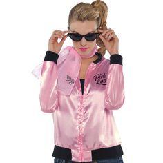 Men\'s Grease Badges T-Shirt | Pink ladies grease, Halloween ...