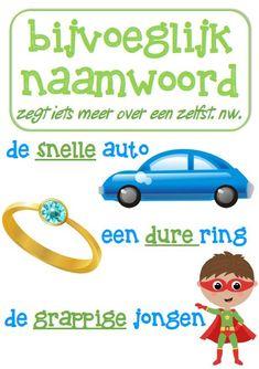 School Hacks, I School, Primary School, Back To School, Learn Dutch, Classroom Language, Kids Education, Kids Learning, Grammar