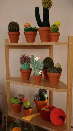 Textiles, Cactus, Bedroom Ideas, Planter Pots, Hay, Creativity, Chrochet, Creative Workshop, Prickly Pear Cactus