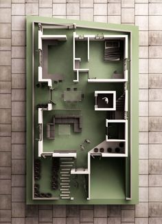 Small Residential 3D Plan