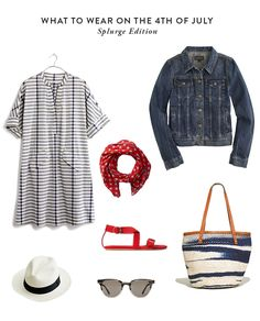 What to Wear for the 4th of July: Splurge and Save
