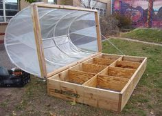 46 Ideas Garden Boxes Diy Cold Frame For 2019 Greenhouse Shade Cloth, Small Greenhouse, Greenhouse Plans, Greenhouse Gardening, Greenhouse Cover, Indoor Greenhouse, Greenhouse Wedding, Indoor Garden, Veg Garden