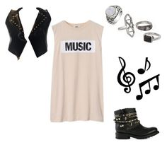 """""""Music"""" by cliffkitty ❤ liked on Polyvore"""