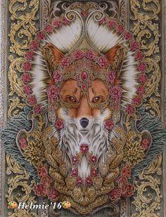 Bennett Klein, red fox