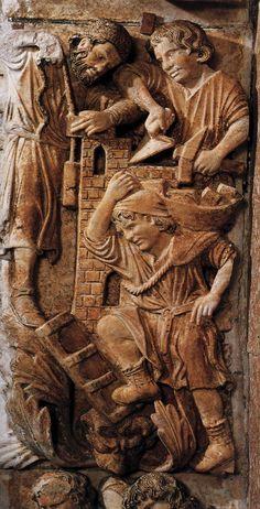 Masons Unknown Italian sculptor, 1250 Basilica di San Marco, Venice, Italy
