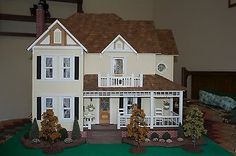 Dura-Craft Built Bellingham Farm Doll House ONLY 1:12 (Excludes Miniatures)
