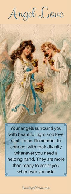 Life on Earth can feel very alone and confusing at times. But we are each blessed with the beautiful, divine friendship of our angels. Reach out to them to experience their loving energy, and ask for their angelic assistance whenever you need it.
