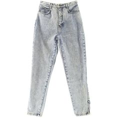 RustyZipper.Com Vintage Clothing ($26) ❤ liked on Polyvore featuring pants, button pants, five pocket pants, ankle zip pants, peg-leg pants and cotton trousers