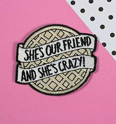 Eggo Iron On Patch // patchgame embroidered patch stranger. Eggo from Stranger Things Iron On Patch from Punky Pins. she is our friend and she is crazy! Stranger Things Patches, Stranger Things Pins, Stranger Things Merchandise, Stranger Things Aesthetic, Cute Patches, Pin And Patches, Iron On Patches, Jacket Patches, Iron On Badges