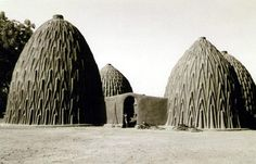 clay houses in Tchad