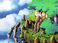 Castle in the Sky: floating ruins