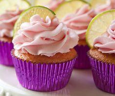 Cupcakes de Margarita de Fresa