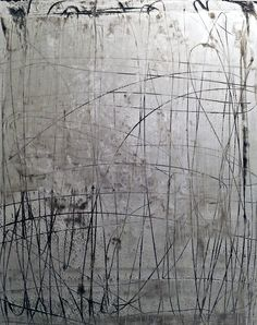 """RLG40002013 by Rick Lewis - Mixed Media on Paper - 47"""" X 35"""" - For questions or prices please contact us at info@igifa.com"""