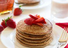 Gluten-Free Overnight Oat Pancakes