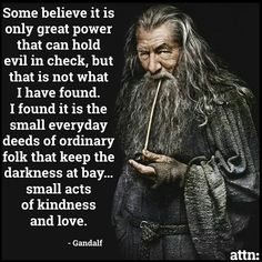 Gandalf - From the movie.