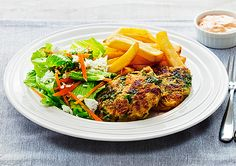 Kumara and Bacon Fritters recipe - Easy Countdown Recipes Kidspot Recipes, Recipies, Cooking Recipes, Healthy Recipes, Healthy Food, Cinnamon Roll Cookies, Fritters, Quick Meals, Lunch Ideas