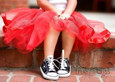 Shoes and tutu