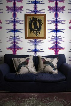 Timorous Beasties Wallcoverings  - Vertical Stripe wallpaper