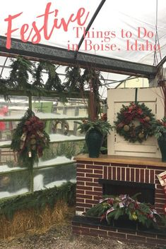 Festive things to do in Boise, Idaho Happy December, Us Travel Destinations, Boise Idaho, Try Something New, Vacation Places, Holiday Festival, Travel With Kids, Christmas Wreaths, Xmas