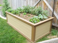 Construction of concrete block garden bed liner on sides not