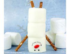 Handstand Snowmen | CANDIQUIK