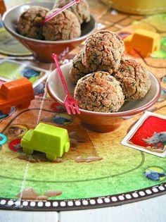 Κεφτεδάκια με σπανάκι και φασόλια - www.olivemagazine.gr
