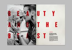 a+mag • Tabloid by Vanessa Farano, via Behance