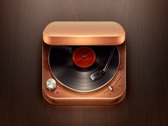 awesome turntable icon :)