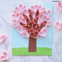 Read about mothers day cards diy Kids Crafts, Preschool Valentine Crafts, Valentine Bingo, Valentine Tree, Kinder Valentines, Mothers Day Crafts For Kids, Crafts For Kids To Make, Valentine Day Love, Mothers Day Cards