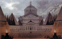 Giovanni Campana - Design for a Grave Chapel, 1795