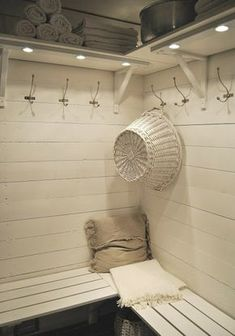 Portable Steam Sauna - We Answer All Your Questions! Bathroom Spa, Laundry In Bathroom, Pool Changing Rooms, Pool House Interiors, Portable Sauna, Scandinavian Cottage, Pool Shed, Steam Sauna, Summer Cabins