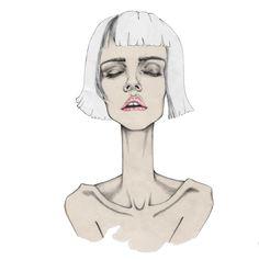 Fashion Illustrations by Nina Hecht, via Behance