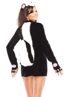 Adult Skunk Costume - Adult Costumes