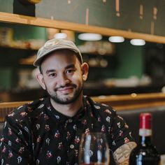 Anthony Alvarez of Boia De in Miami's Little Haiti talks up a blend from hot Sicilian producer Cos