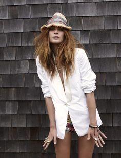 Elle France: Summer of rock - Erin Wasson. Photos by Fred Meylan