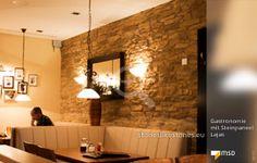 MSD-Steinpaneel von StoneslikeStones in der Gastronomie - 80122