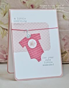 Sneak peek! Something for Baby from the new Stampin' Up annual catalogue 2014-15