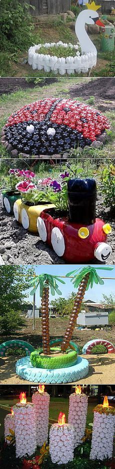 62 Trendy plants diy ideas plastic bottles – Halloween Ideas – Grandcrafter – DIY Christmas Ideas ♥ Homes Decoration Ideas Reuse Plastic Bottles, Plastic Bottle Crafts, Recycled Bottles, Recycled Crafts, Plastic Spoons, Recycled Materials, Garden Crafts, Garden Projects, Garden Ideas