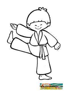 Image Result For Dibujos De Niños Karatecas Taekwondo Fundraising
