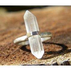 quartz silver ring Prism hexagonal - Google Search