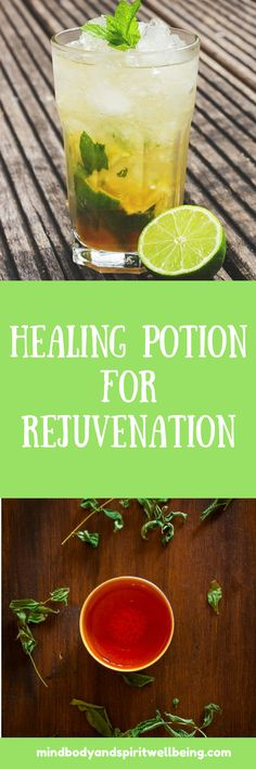 Healing Smoothie for Rejuvenation body rejuvenation, gently cleanse and healing detox, anti-aging, healthy drinks, teas, smoothies, healthy recipes