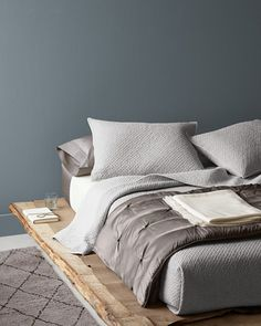 Eileen Fisher Textured Layers Bedroom - Garnet Hill