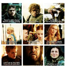 Game of Thrones | Mean Girls Edition